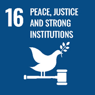 UN goal 16 - peace, justice and strong institutions